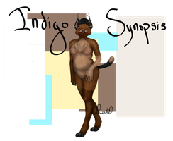 Indigo's Anthro Ref 2015 by ChocolateQuill