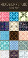 Photoshop Patterns - Pack 07 by punksafetypin