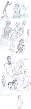 Sketchdump by Niphredill
