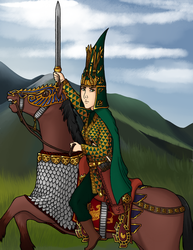 Tomyris of the Massagetae by Imperius-Rex