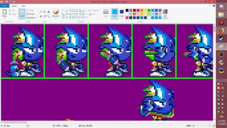 ristar crystal apple sprite sheet example by saruish