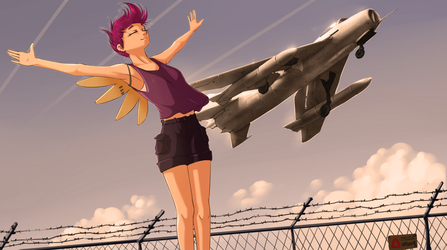 Take off by MadHotaru