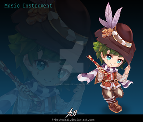 Music Instrument by H-Battousai