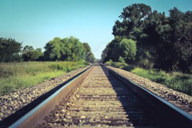 Union Pacific RR: On the Right Track (lomo-style) by dEfyant