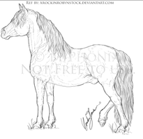 Horse 1 [WIP 4] by molleisadog