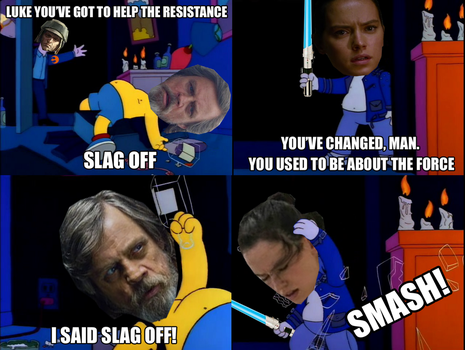 Luke And Rey's Slagging Match by Party9999999