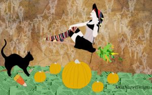 The Great Pumpkin Harvest by AeliaNaqwiDesigns