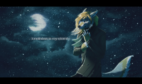 loneliness is my eternity by Suzamuri
