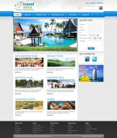 Travel Seva - Joomla Template Design by artistsanju