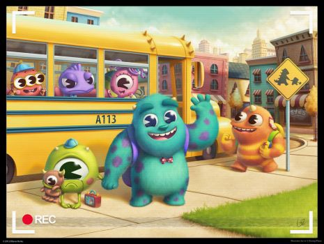 monsters elementary by lilibz