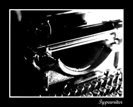 Typewriter by greatest-enemy