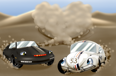 .:Two Famous Cars:. by MerciResolution
