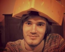 Pewdies Cheese Hat by Pewdiepie-Pictures
