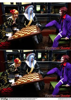 Umineko Cosplay: Turn the Chessboard Over by Maxieyi
