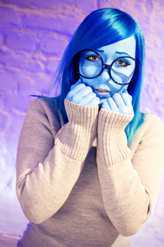Sadness Cosplay from Inside Out 3 by BananaUsagi