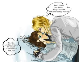Jareth and Sarah - Go Jareth! by Aniyumex