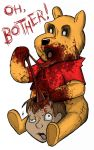 Zombie the Pooh by SumtimesIplaytheFool