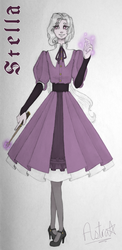 stella pratine - official redesign by astra-magicka