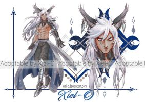 Adoptable Auction!! (Closed) by Xiel-O