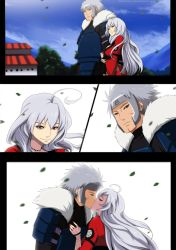 Tobirama and Gin by annria2002