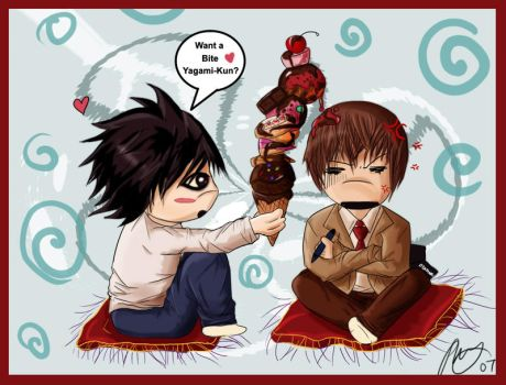-Deathnote: Temptation- by fan-art-club