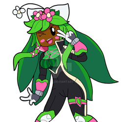 Plant Girl - Kanna from Blaster Master Zero 2 by RedTL