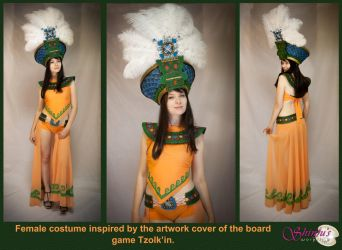 Tzolk'in inspired costume by Shinju's Workshop by ShinjusWorkshop