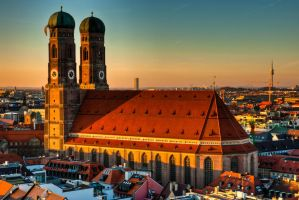 Munich, Frauenkirche by alierturk