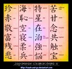 Japanese Characters IV by Touch-and-Go