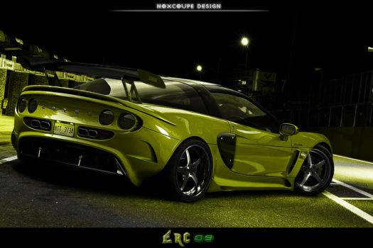 Lotus Elise Racing Concept by Noxcoupe-Design