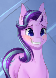 Awkward Grin by Chiweee