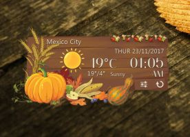 Thanksgiving Style for xwidget by Jimking