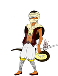RWBY OCS - The Snake Charmer - Arjuna Sipos by SirFlairTheFabulous