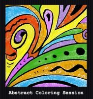 Coloring Session - Abstract by PointyHat