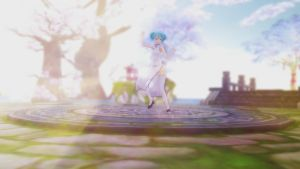 MMD Stage DL: Sky and Sakura v2 by daucongluyen