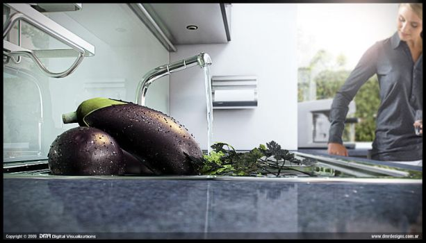 D Kitchen - Close up 02 by diegoreales