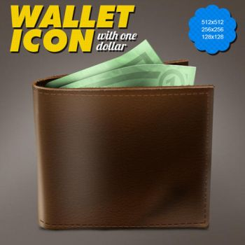 Wallet Icon by Pabloban