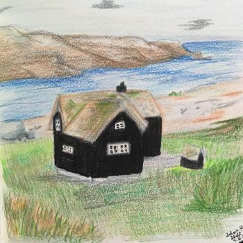 Cottage By the Sea by Solar-S-Shift