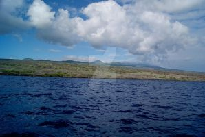 Hawaii from Sailboat by seancfinnigan