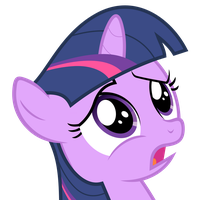 Twilight Sparkle as a filly by Pikamander2