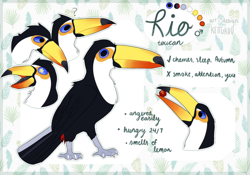Rio | Reference 2018 by kettukuu