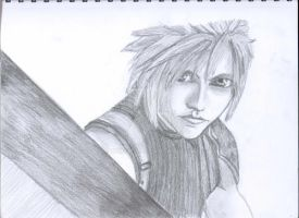 FFVII Cloud by conaira