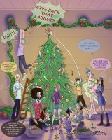 OP- Straw Hat Christmas by Aedua