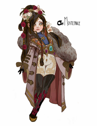 Outfit Design: Sora by mostlyniceAdopts