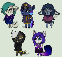 Animal Crossing - Other Villagers by Cynical-Sushi