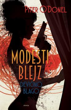 Modesty Blaise  cover by MarinaVeselinovic