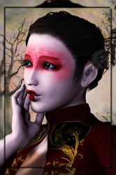 My little China Girl by OhnehandsLady
