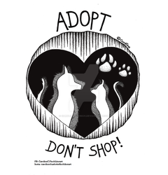 Adopt, don't shop! by Caroline-C-Finch