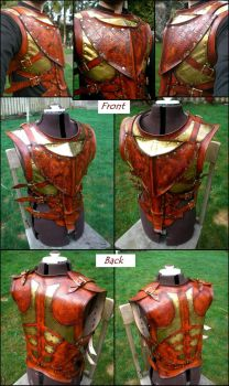 Steampunk Pirate Vest by Skinz-N-Hydez