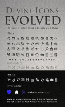 Devine Icons Evolved by ipapun